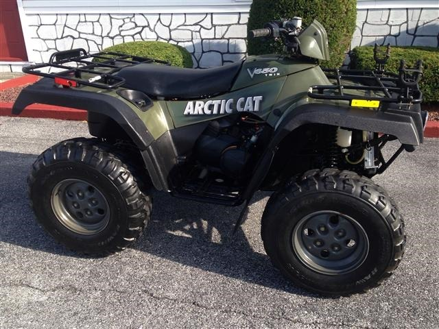 2004 Arctic cat 650  V2 , motorcycle listing