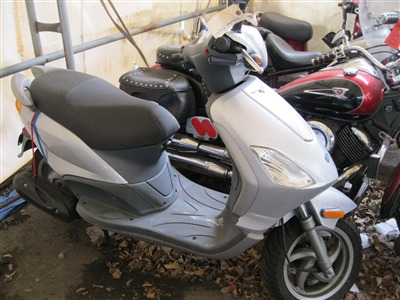 2006 Piaggio FLY 50, motorcycle listing