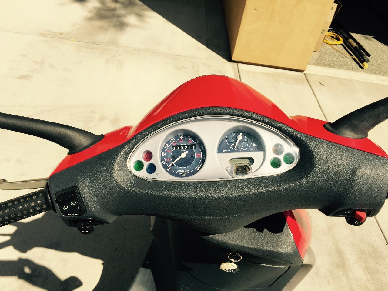 2006 Piaggio Fly 150, motorcycle listing
