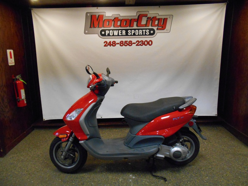 2007 Piaggio Fly 150, motorcycle listing