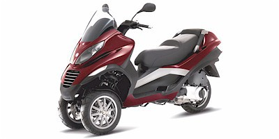 2007 Piaggio MP3 Three Wheeler, motorcycle listing