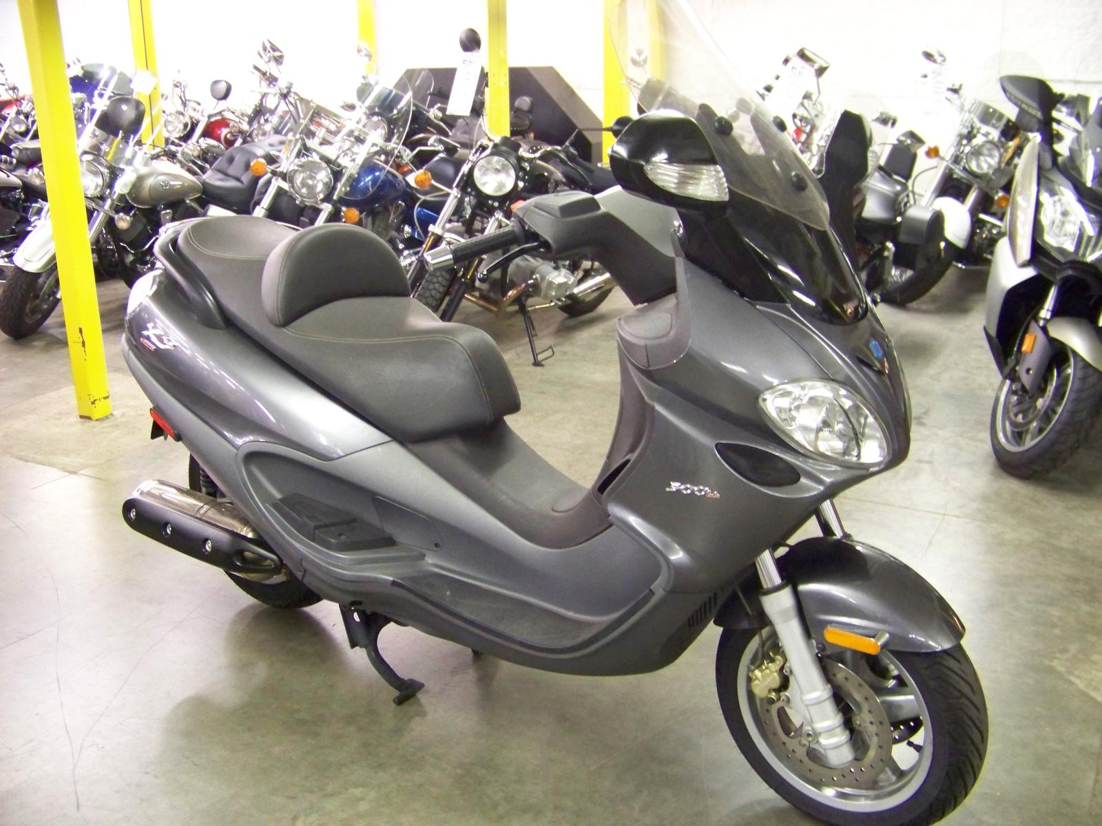 2007 Piaggio X9 500ie, motorcycle listing
