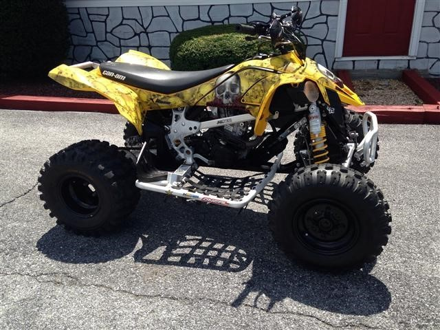 2008 Can-Am  DS450, motorcycle listing