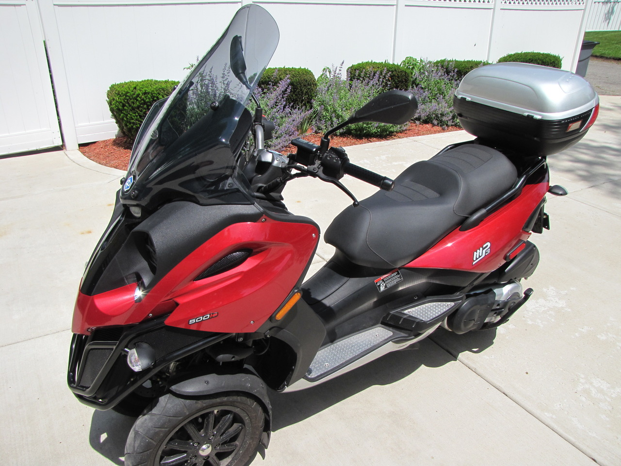 2008 Piaggio Mp3 500, motorcycle listing