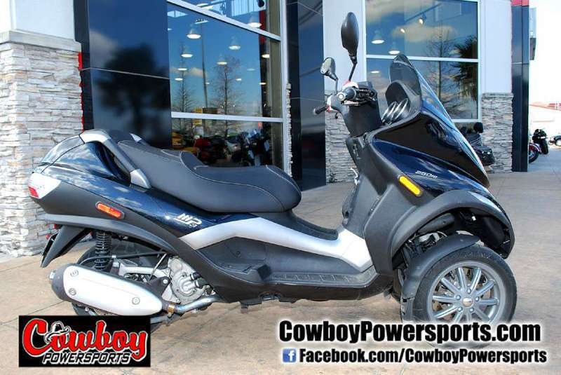 2009 Piaggio MP3 Three Wheeler 250, motorcycle listing