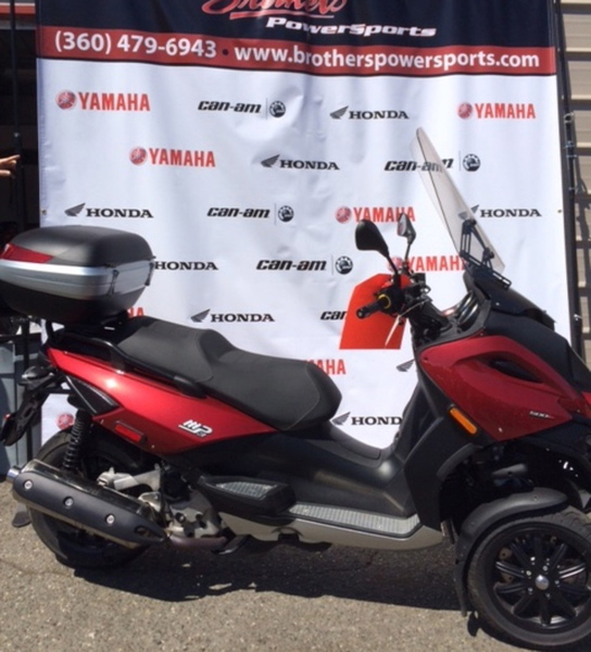 2009 Piaggio MP3 Three Wheeler 500, motorcycle listing