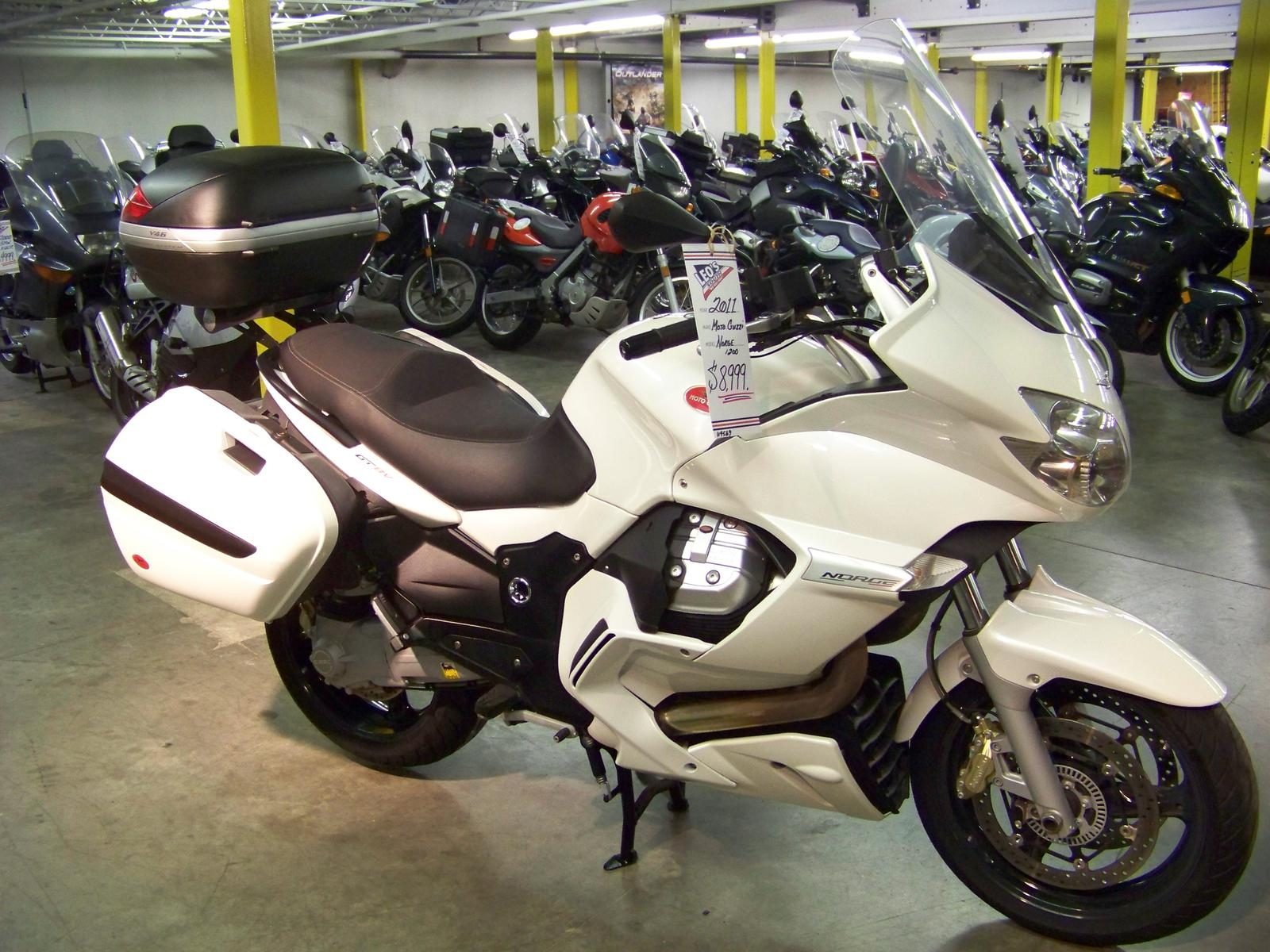 2011 Moto Guzzi NORGE 1200GT 8V, motorcycle listing