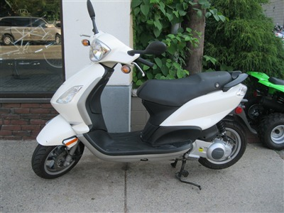 2012 Piaggio FLY 150, motorcycle listing