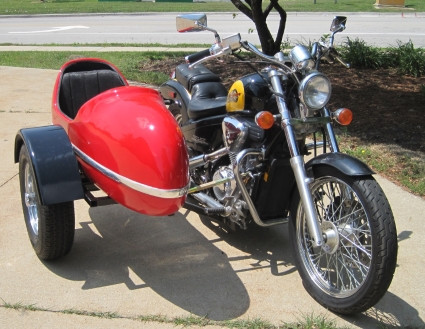 2014 Gsi RocketTeer Motorcycle Sidecar Kit - All Harley Models, motorcycle listing