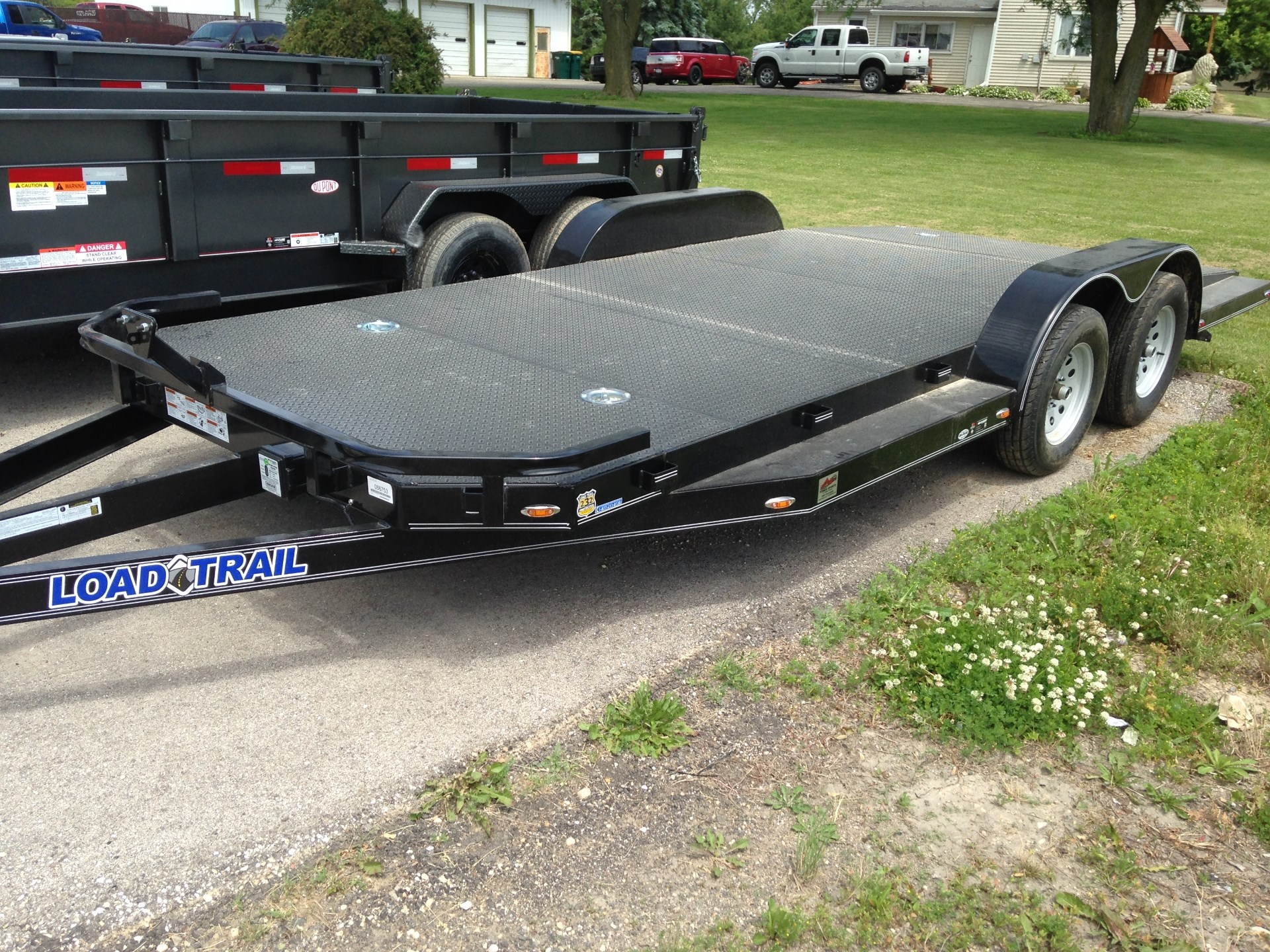 2015 Load Trail 7000# SPORT HAULER, motorcycle listing
