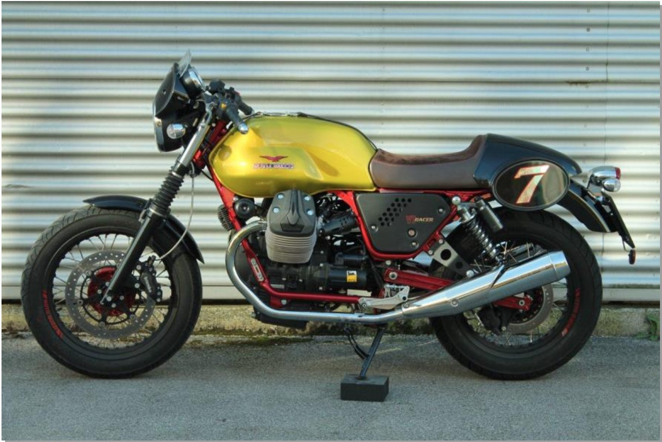 2015 Moto Guzzi V7 Racer Verde Legnano Special Edition (50 produced), motorcycle listing