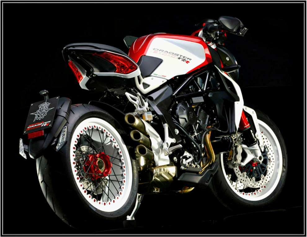 2015 Mv Agusta MV Agusta Dragster 800 RR Pearl Shock Red-Pearl Ice Whi, motorcycle listing