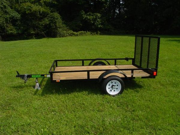 2015 Other 5'X8' with Rails, motorcycle listing
