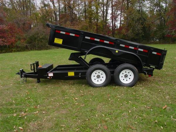 2015 Other 6'X12' LOW PROFILE DUMP, motorcycle listing