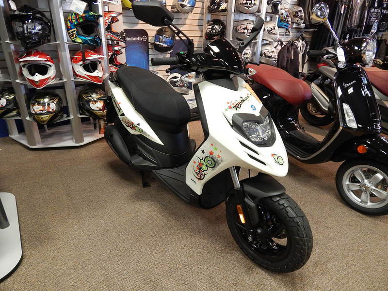 2015 Piaggio Typhoon 125, motorcycle listing