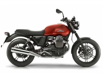 2016 Moto Guzzi V7 II Stone ABS Rosso Impetuoso, motorcycle listing