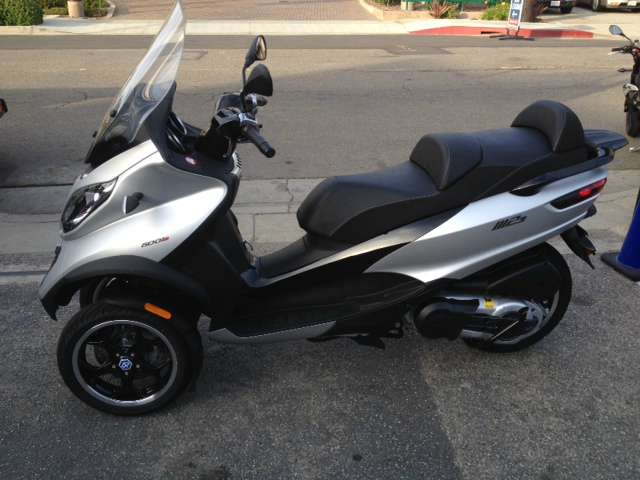 2016 Piaggio MP3 500 ABS Argento Cometa, motorcycle listing