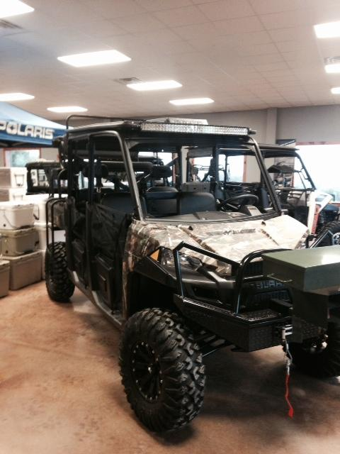2015 Polaris Ranger Crew 900 EPS Motorcycle From Goldthwaite