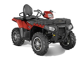 2015 Polaris Sportsman Touring 850 SP EPS Sunset Red, motorcycle listing