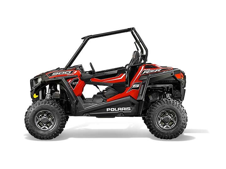 2015 Polaris RZR S 900 EPS - Havasu Red Pearl, motorcycle listing