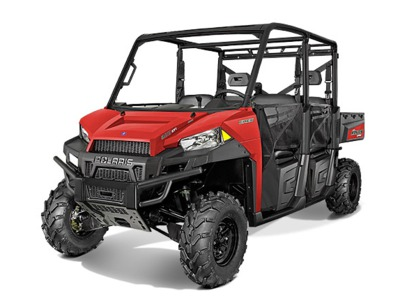 2015 Polaris Ranger Crew 900 Solar Red, motorcycle listing