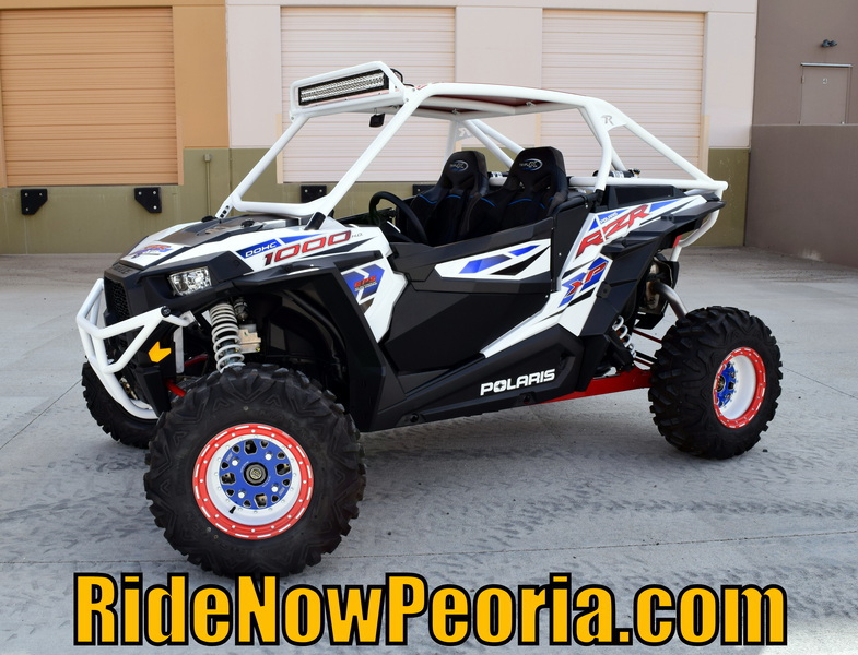 2015 Polaris RZR XP 1000 EPS Custom White Lightning, motorcycle listing