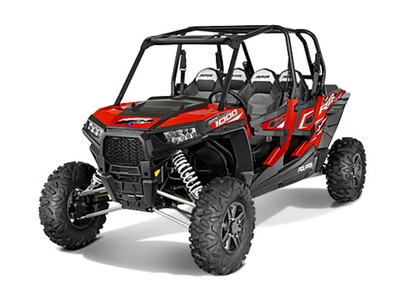 2015 Polaris RZR XP 4 1000 EPS Havasu Red Pearl, motorcycle listing