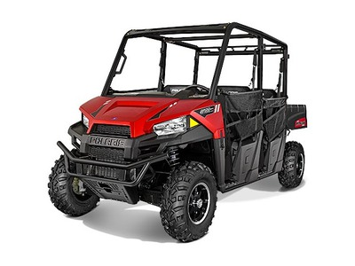2015 Polaris Ranger Crew 570 EPS Sunset Red, motorcycle listing