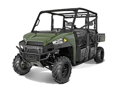 2015 Polaris Ranger Crew 570 Full-Size Sage Green, motorcycle listing