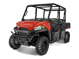 2015 Polaris Ranger Crew 570 Solar Red, motorcycle listing