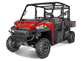 2015 Polaris Ranger Crew 900-6 EPS Sunset Red, motorcycle listing