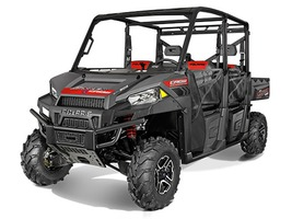 2015 Polaris Ranger Crew 900-6 EPS Super Steel Gray, motorcycle listing