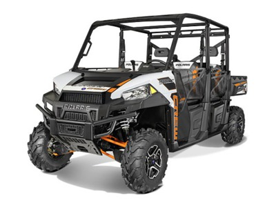 2015 Polaris Ranger Crew 900-6 EPS White Lightning, motorcycle listing