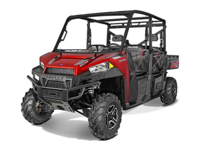 2015 Polaris Ranger Crew 900 EPS Sunset Red, motorcycle listing