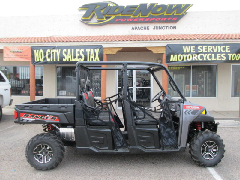 2015 Polaris Ranger Crew 900 EPS Super Steel Gray, motorcycle listing