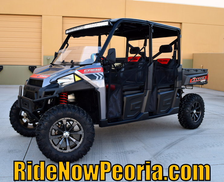 2015 Polaris Ranger Crew 900 EPS Super Steel Gray Motorcycle