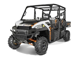 2015 Polaris Ranger Crew 900 EPS White Lightning, motorcycle listing