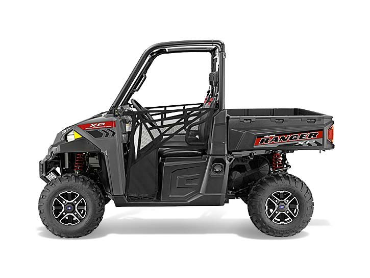 2015 Polaris Ranger XP 900 EPS - Super Steel Gray, motorcycle listing
