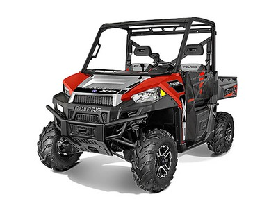 2015 Polaris Ranger XP 900 EPS Sunset Red Silver, motorcycle listing