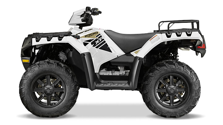 2015 Polaris Sportsman Xp 1000 Matte White Le, motorcycle listing