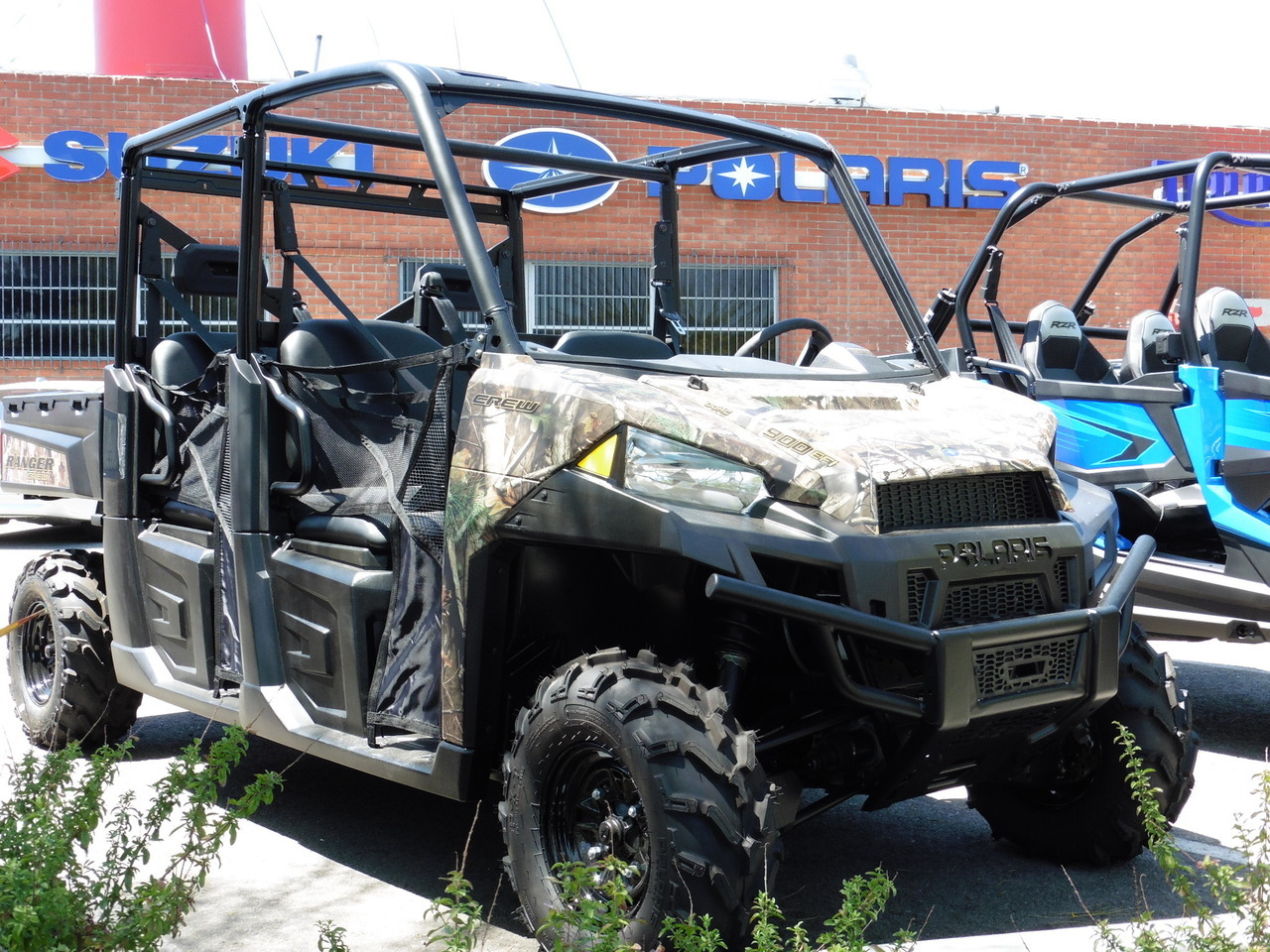 2014 Polaris Ranger Crew 900 EPS Polaris Pursuit Camo