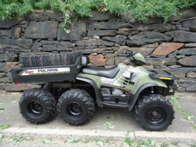 2004 Polaris SPORTSMAN 500 6X6 WITH TRACK KIT, motorcycle listing