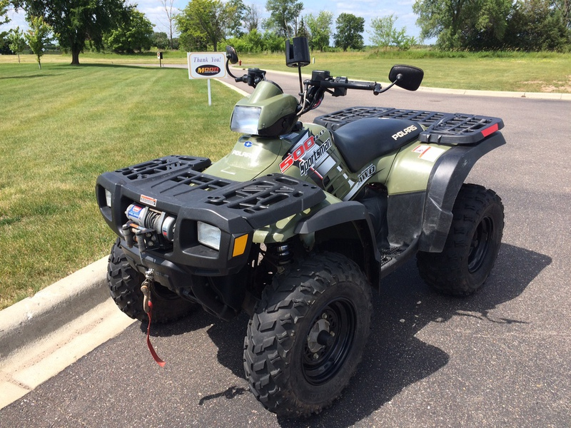 2004 Polaris Sportsman 500 H.O., motorcycle listing