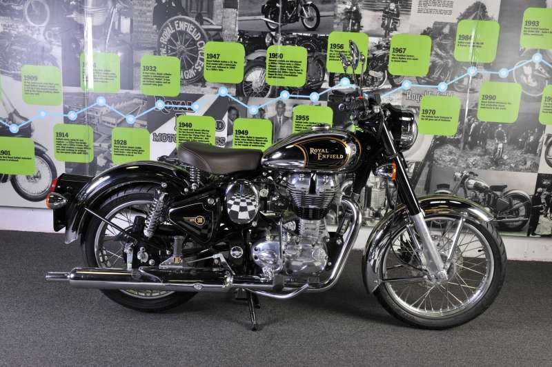2012 Royal Enfield Bullet C5 Chrome (EFI) Limited Edition, motorcycle listing