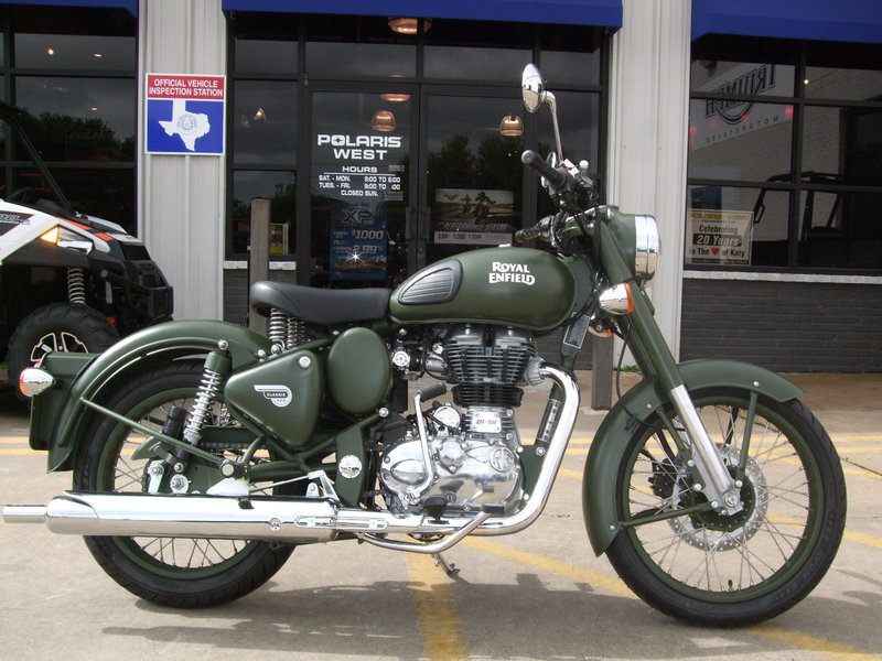 2015 Royal Enfield Bullet 500 Military, motorcycle listing