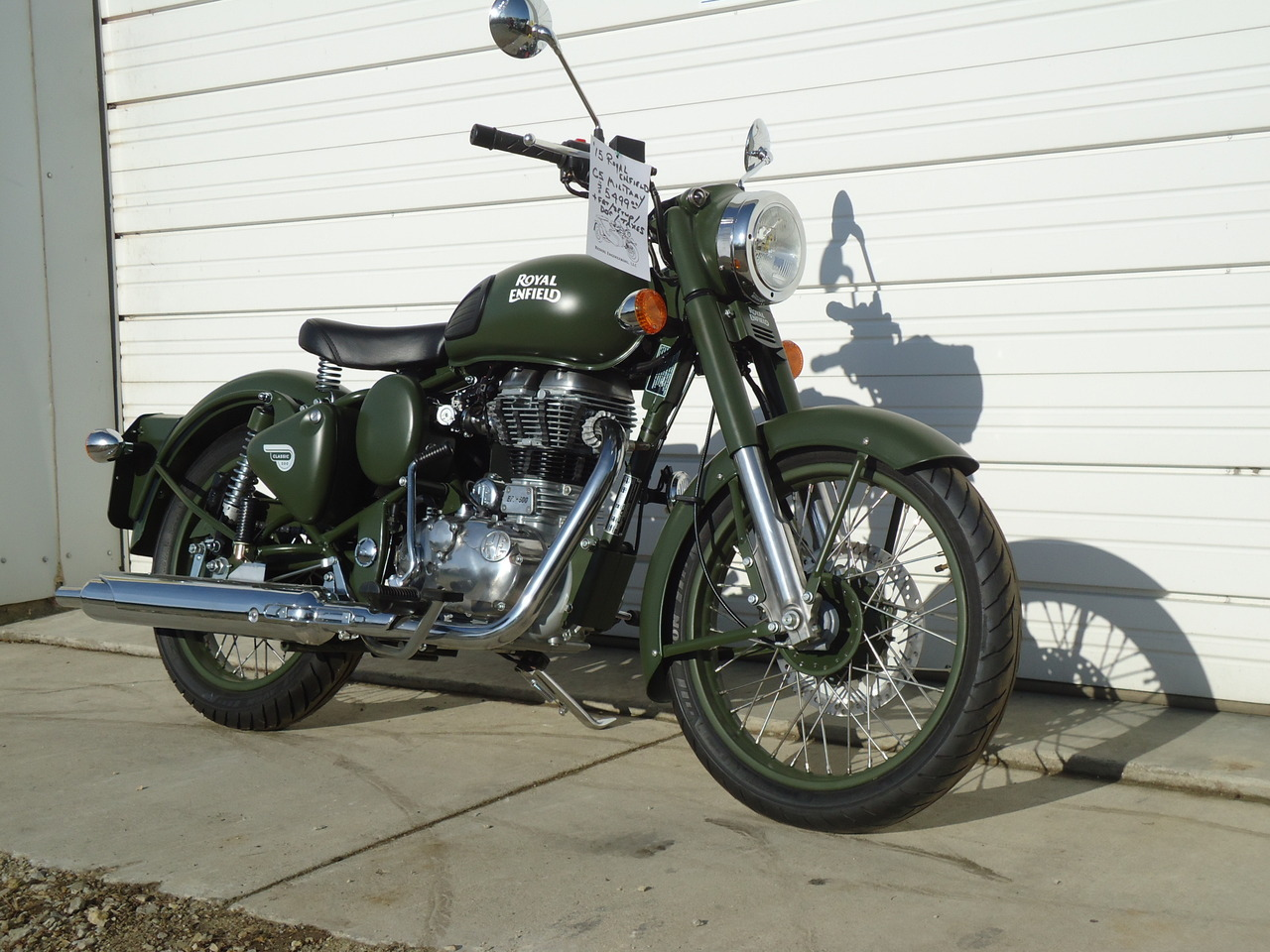 2015 Royal Enfield C5 Military, motorcycle listing