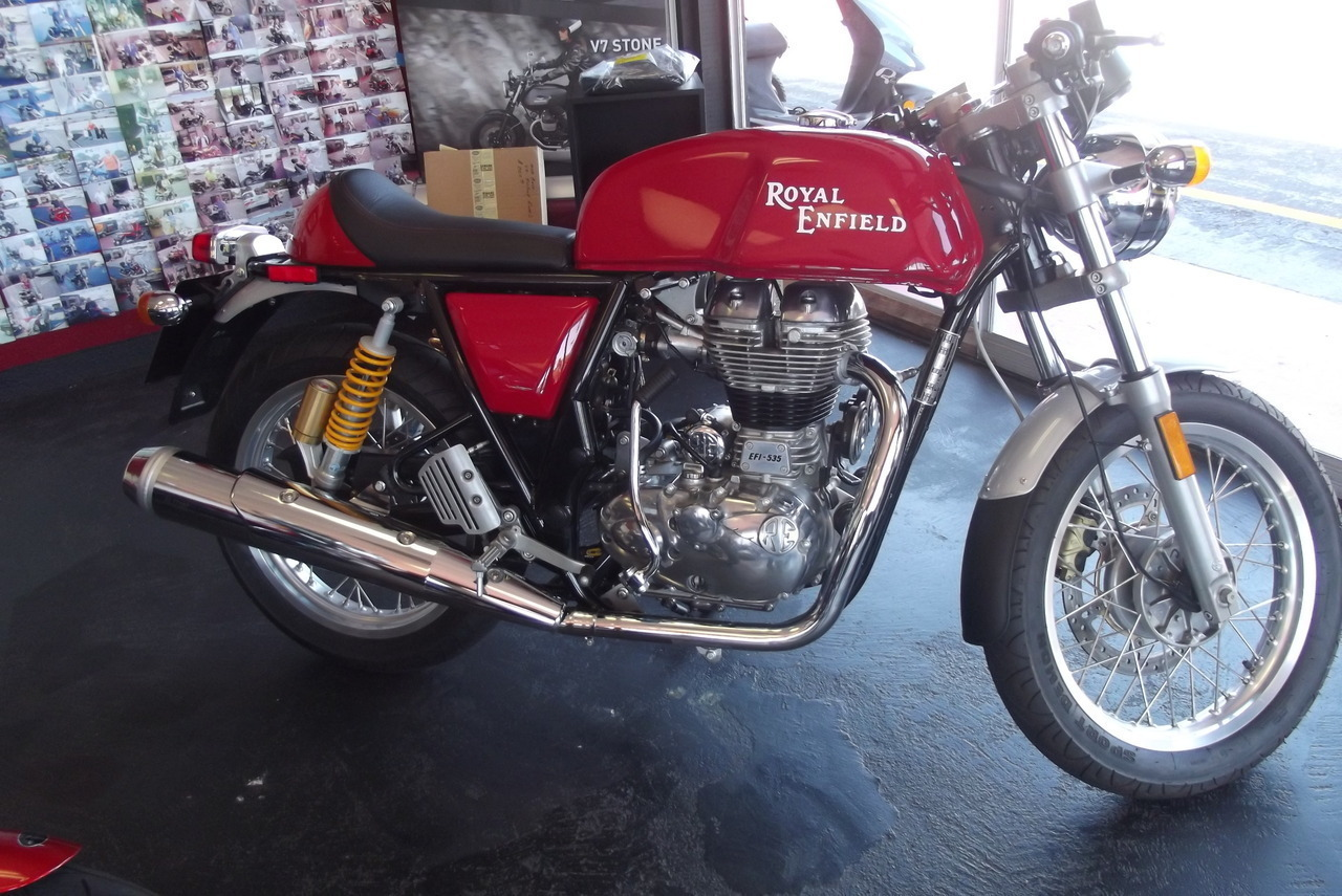 2015 Royal Enfield Continental GT CAFE, motorcycle listing
