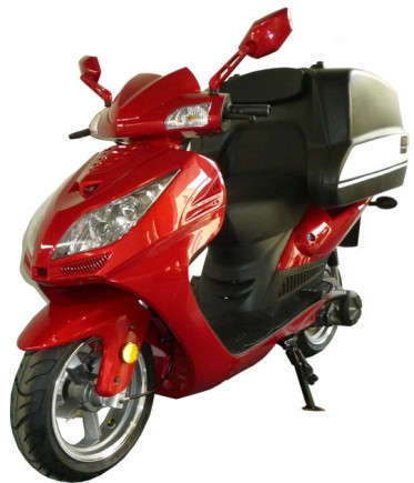 2012 Roketa 150cc Air Cooled Pizza Delivery Moped Scooter, motorcycle listing