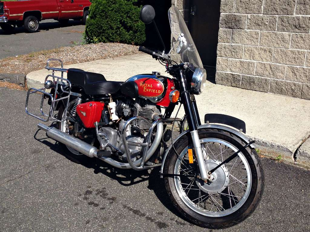2000 Royal Enfield Bullet Classic 500, motorcycle listing