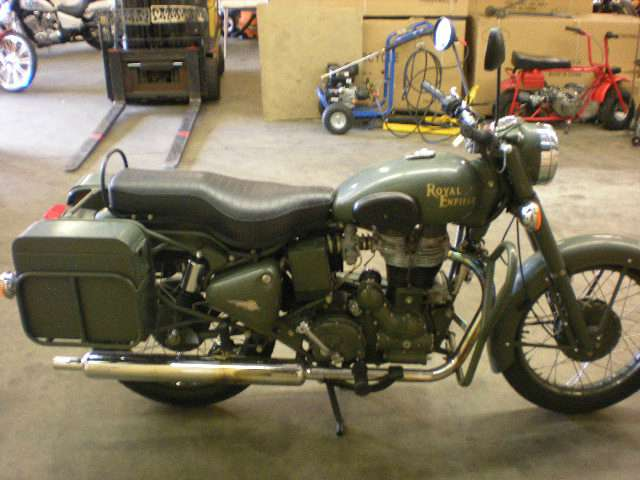 2007 Royal Enfield Bullet 500es Military, motorcycle listing